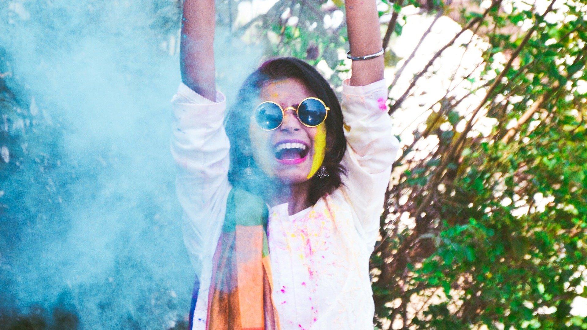 girl color festival